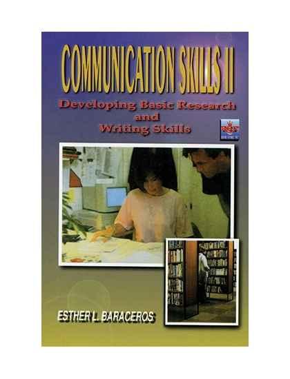 Communication Skills II