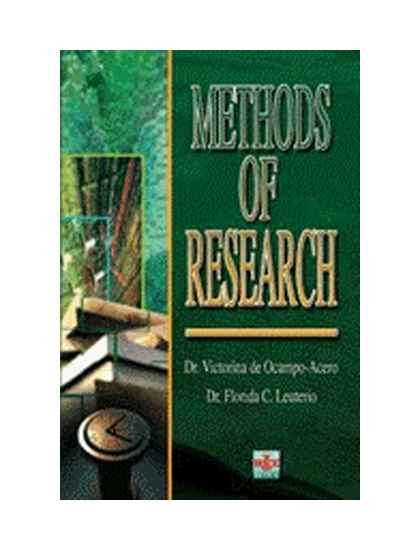 Methods of research and thesis writing book