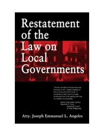 Restatement of the Law on Local Government
