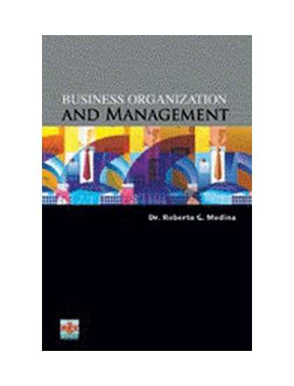 organization and management book pdf