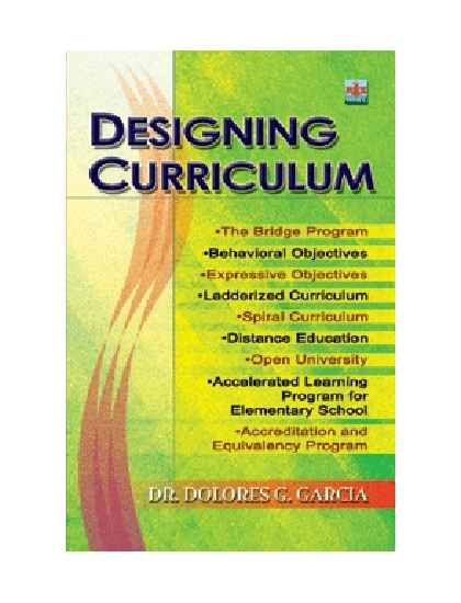 Designing Curriculum