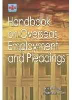 Handbook on Overseas Employment and Pleadings
