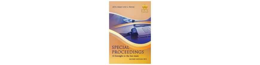 Special Proceedings
