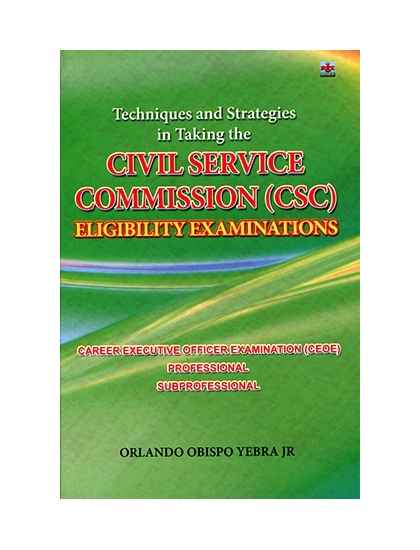Civil Service Comission(CSC) Eligibility Examination