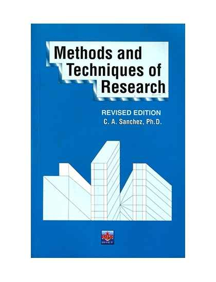 Methods and Techniques of Research