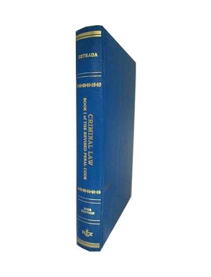 Criminal Law The Revised Penal Code, Book I