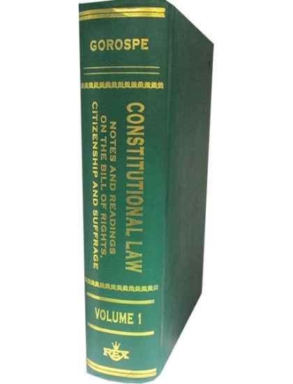 1987 Philippine Constitution Law Books | Rex Book Store