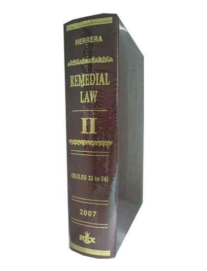 Remedial Law Vol. II, Rule 23-56 (Civil Procedure)