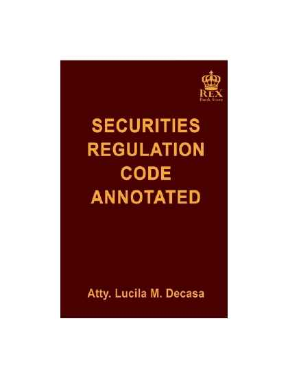 Securities Regulation Code Annotated(Revised Edition)