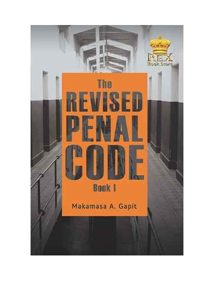 The Revised Penal Code Book 1