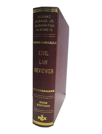 Civil Law Reviewer