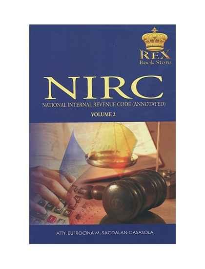 National Internal Revenue Code (Annotated) Volume II