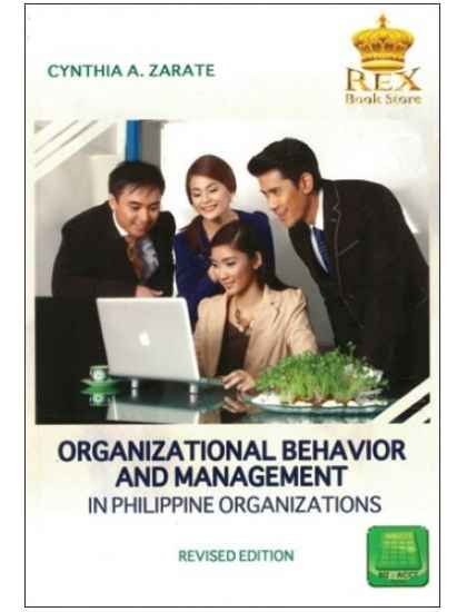 Organizational Behavior & Management in Phil. Organizations