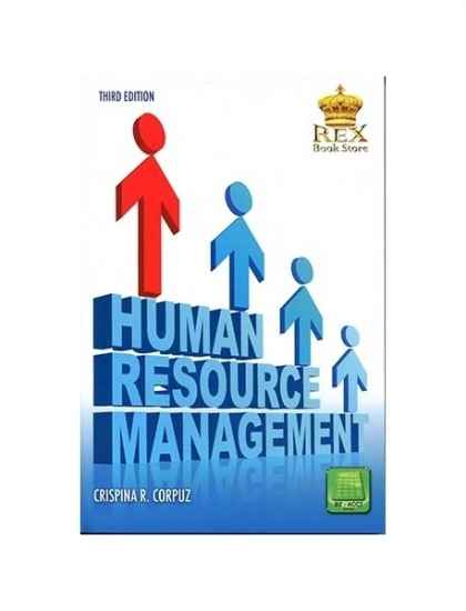 Human Resource Management By C Corpuz College Book