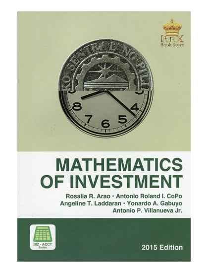 Mathematics of Investment