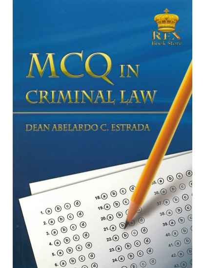 Multiple Choice Questions with Answers in Criminal Law