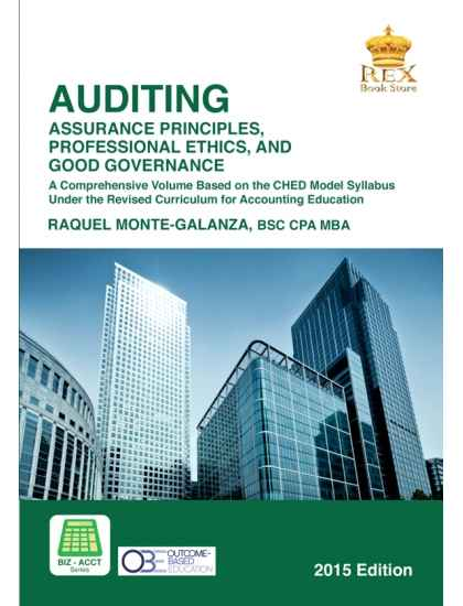 Auditing: Assurance Principles,Professional Ethics and Good Governance