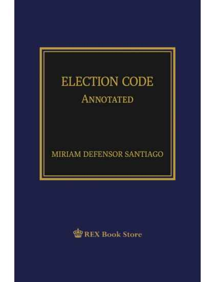 Election Code Annotated [Paperbound]