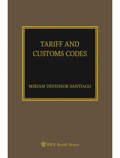 Tariff and Customs Code [Paperbound]