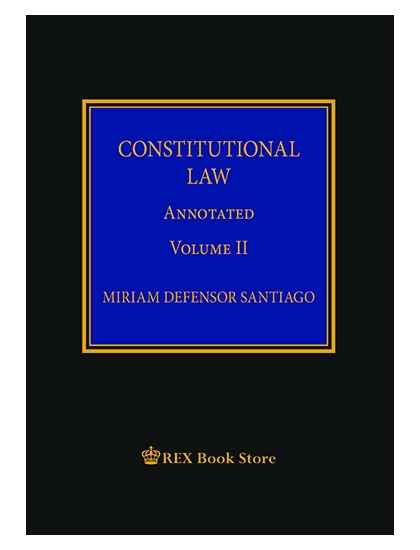 Constitutional Law Annotated Vol. II [Clothbound]
