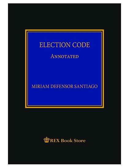 Election Code Annotated [Clothbound]