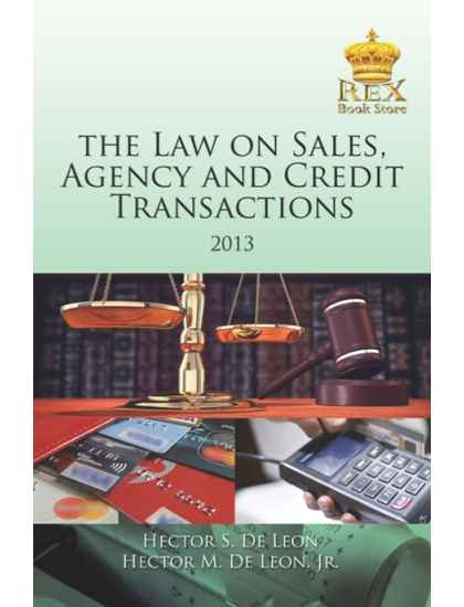 The Law on Sales, Agency and Credit Transactions