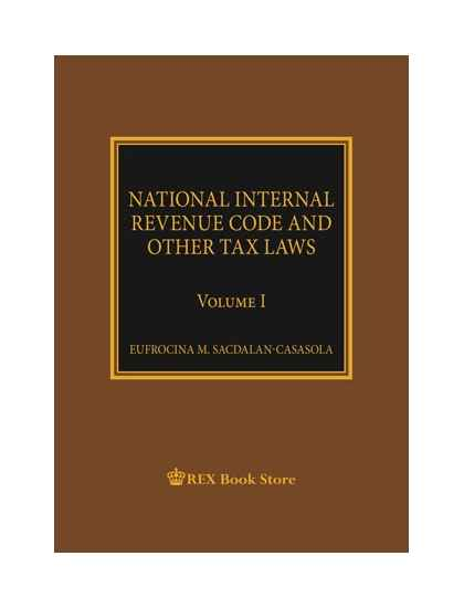 NIRC and Other Tax Laws [Paperbound]