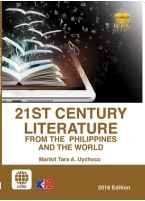 21st Century Literature from the Philippines and the World [ e-Book : PDF ]