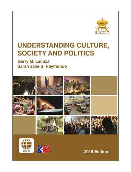 Understanding Culture, Society and Politics