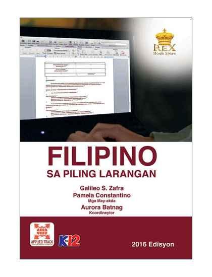 Filipino sa Piling Larangan (Akademik)