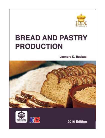 bread  pastry production senior high school book rex book store