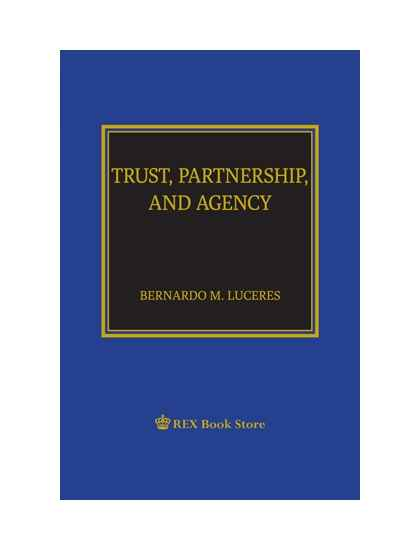 Trust, Partnership and Agency [Paperbound]