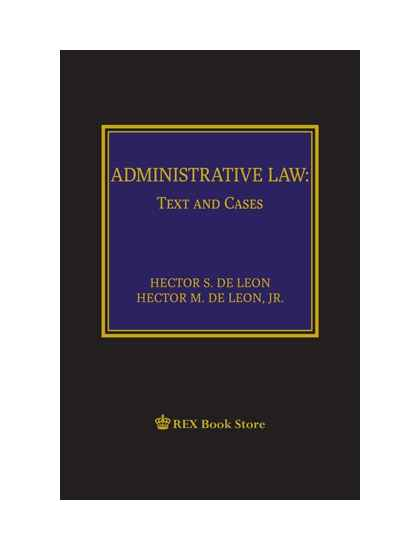 Administrative Law: Text and Cases [Clothbound]