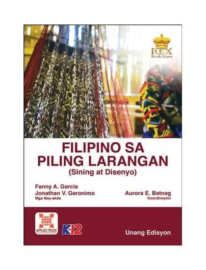 Filipino sa Piling Larangan (Sining at Disenyo)
