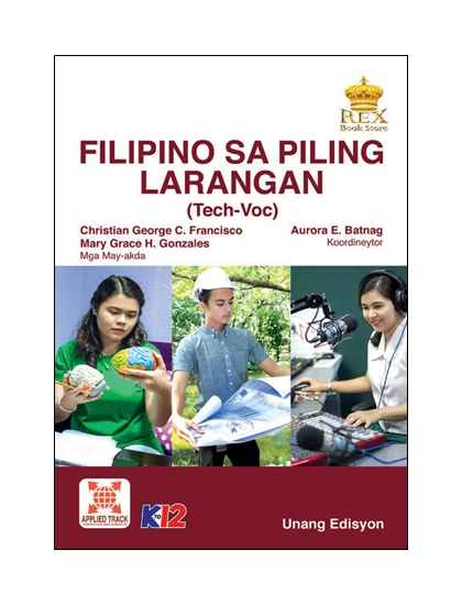 Filipino sa Piling Larangan ( Tech-Voc)