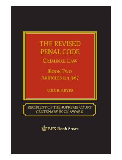 The Revised Penal Code Book II (Cloth Bound)