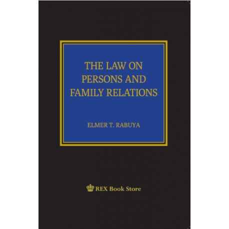Law on Persons and Family Relations