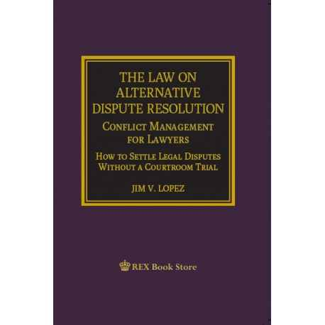 The Law on Alternative Dispute Resolution (PAPERBOUND)