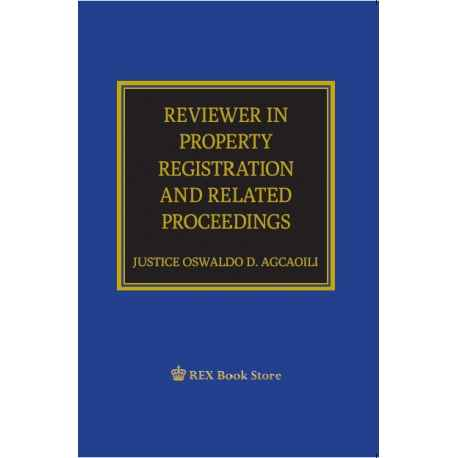 Reviewer in Property Registration and Related Proceedings (Paper Bound)