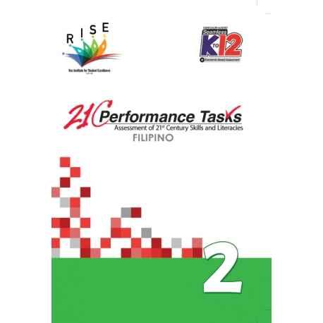 21C Performance Tasks Filipino 2