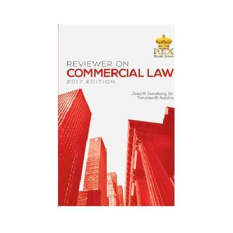REVIEWER ON COMMERCIAL LAW (PAPERBOUND)