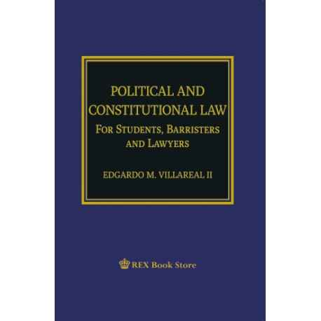 Political and Constitutional Law (Cloth Bound)