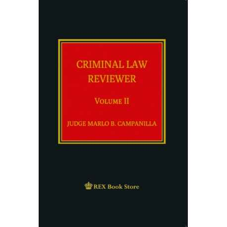 Criminal Law Reviewer II (CLOTH BOUND)