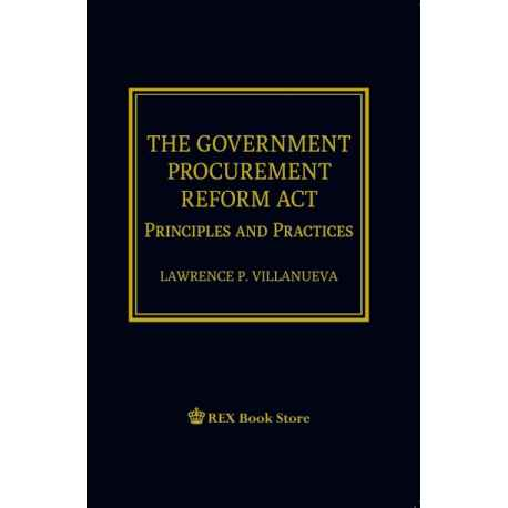 The Government Procurement Reform Act (PAPER BOUND)