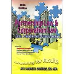 Partnership Law & Corporation Law Laws, Principles and Jurisprudence