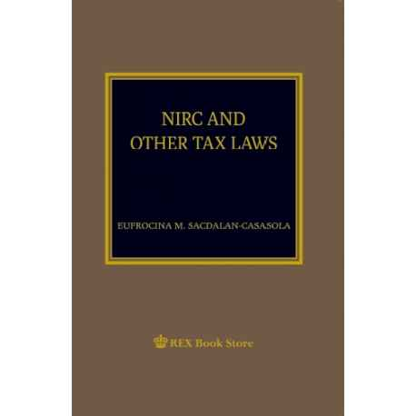 NIRC and Other Tax Laws (Paper Bound)