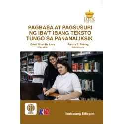 Pagbasa at Pagsusuri ng iba't Ibang Teksto Tungo sa Pananaliksik (Ikalawang Edisyon)