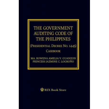 The Government Auditing Code of the Phils (Paper Bound)