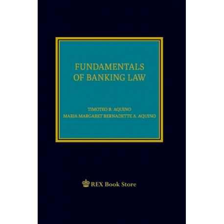 Fundamentals of Banking Law 2019 Edition