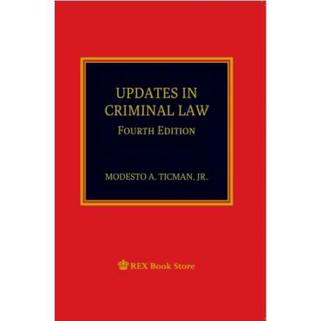 Updates in Criminal Law [Paperbound]